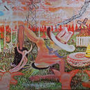 Monkey Trick, 2009 \ Oil on canvas, 150 x 180 cm